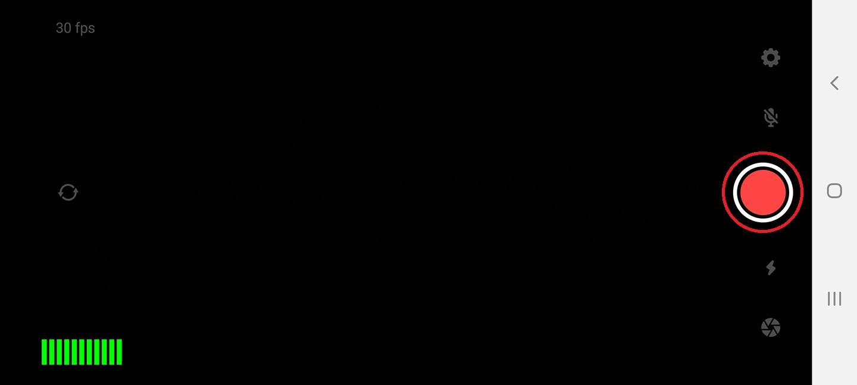Larix Broadcaster - Application main screen